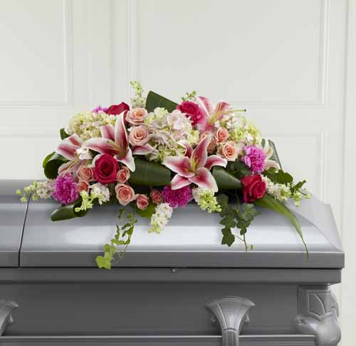 Splendid Grace Casket Spray II