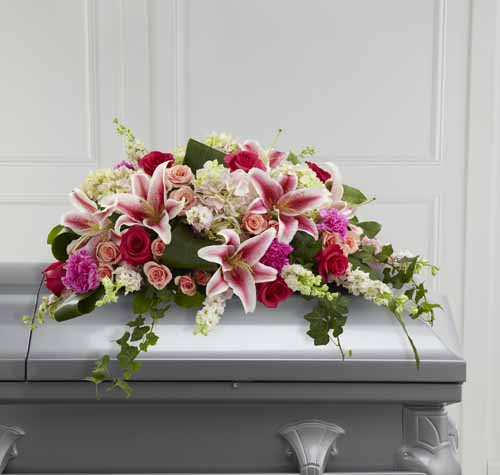 Splendid Grace Casket Spray III