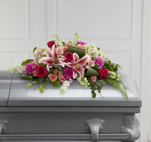 Splendid Grace Casket Spray I