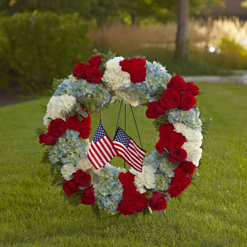 To Honor One's Country Wreath