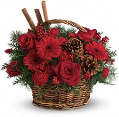 Christmas Scented Basket