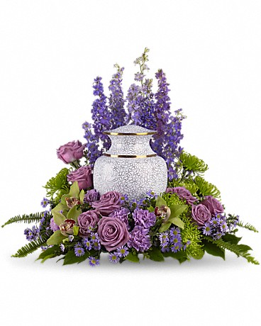 Urn and Photo Memorial Tributes