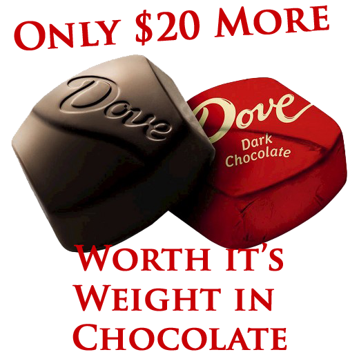 The Best -Dove Chocolate (+$20.00)