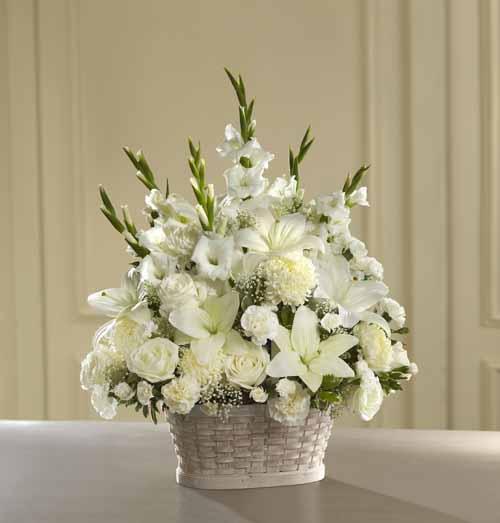 Sympathy for the service funeral bouquets peaceful passage peaceful passage arrangement iii izmirmasajfo