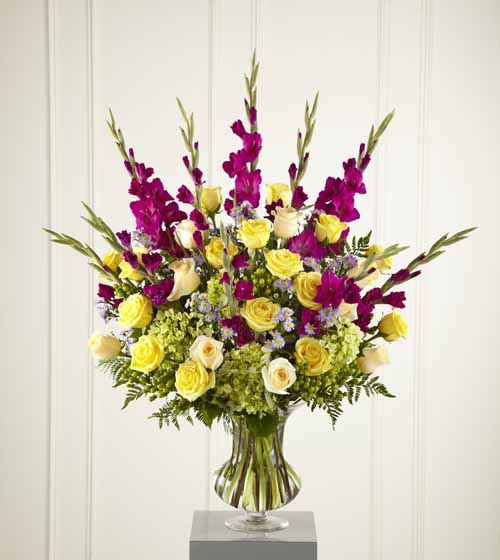 Sympathy for the service funeral bouquets loveliness arrangement loveliness arrangement iii izmirmasajfo