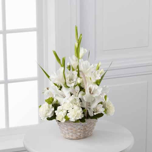 Sympathy for the service funeral bouquets florist local florist eternal affection arrangement i izmirmasajfo