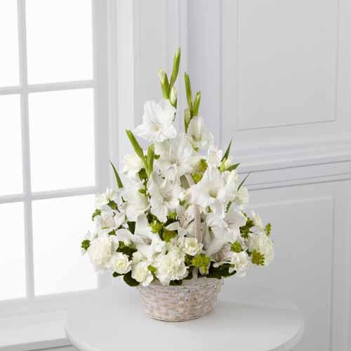 Sympathy for the service funeral bouquets florist local florist eternal affection arrangement ii izmirmasajfo